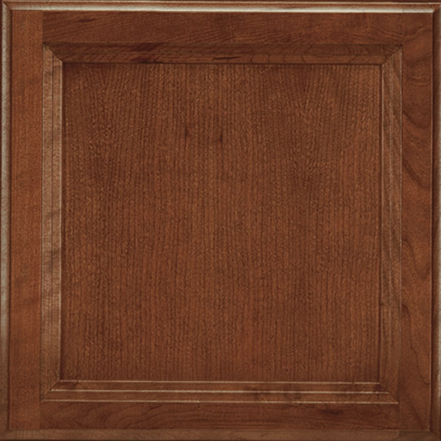 Shenandoah Dominion 14.5-in x 14.5625-in Spice Cherry Square Cabinet Sample