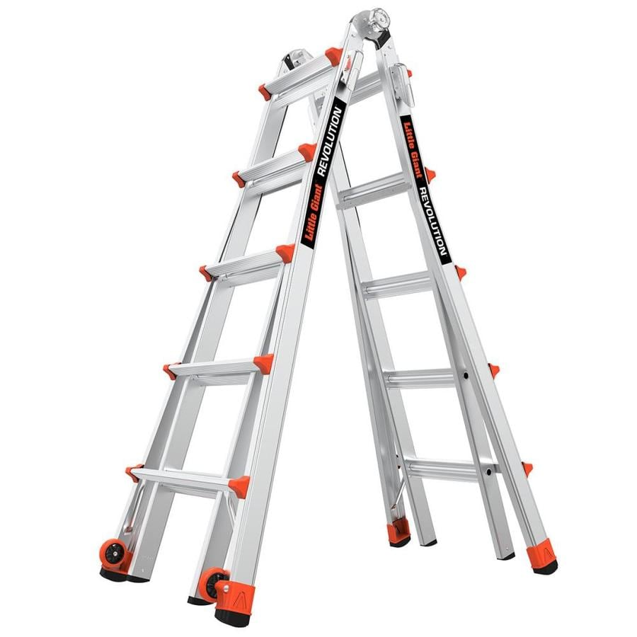 Shop Little Giant Ladders Revolution Aluminum 22 Ft Reach