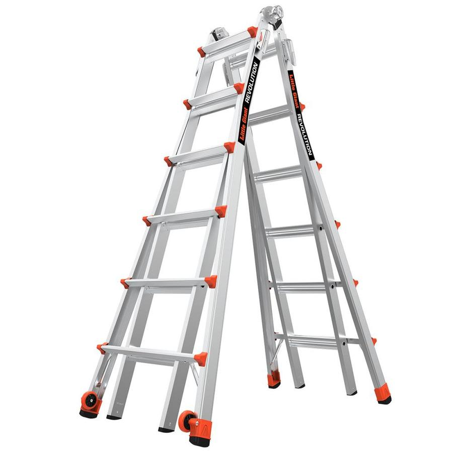 Shop Little Giant Ladders Revolution Aluminum 26-ft Reach Type 1A ...