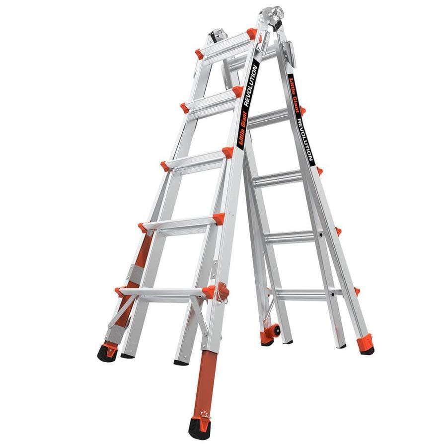 Little Giant Ladders 22-ft Aluminum 300-lb Telescoping Type IA Multi-Position Ladder