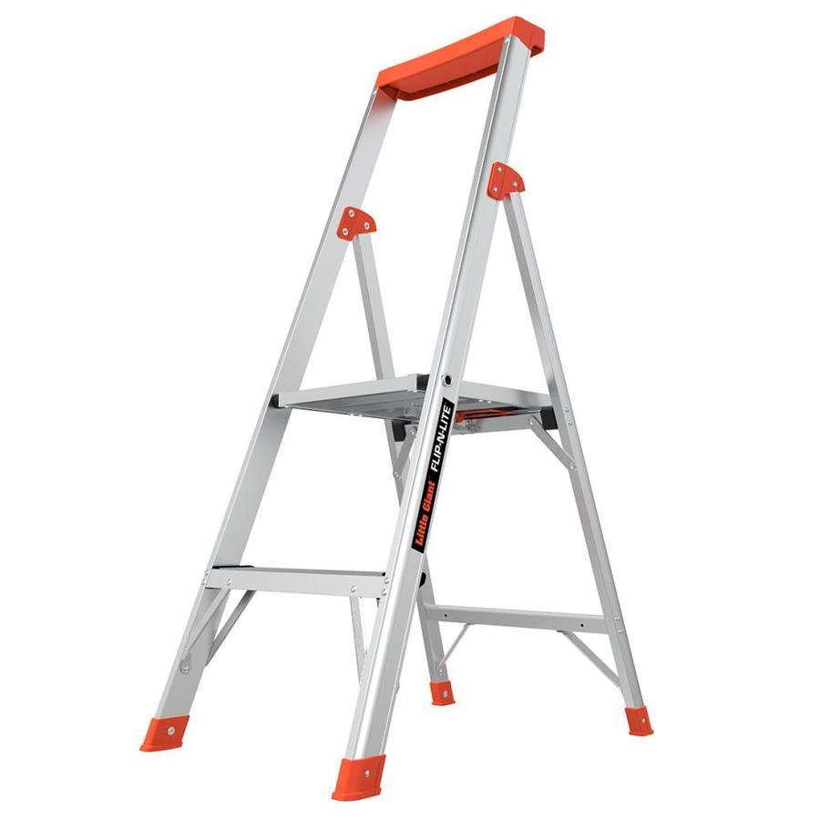Shop Little Giant Ladders 4 Ft Aluminum Type 1a 300 Lbs