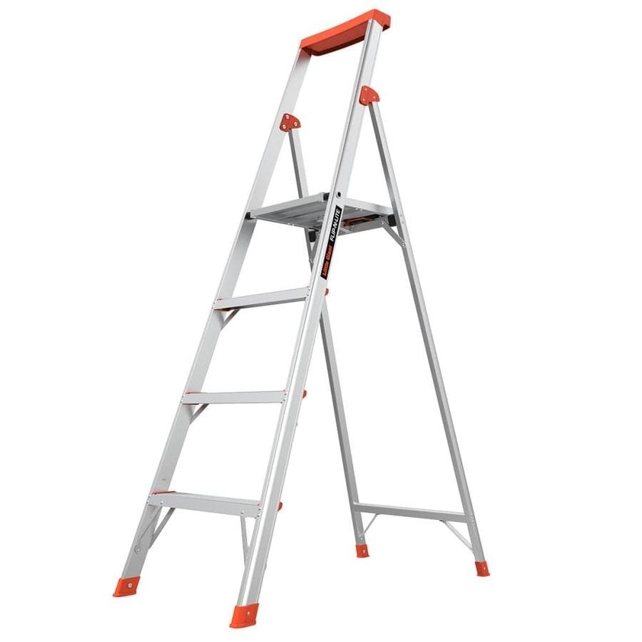how to open little giant ladder