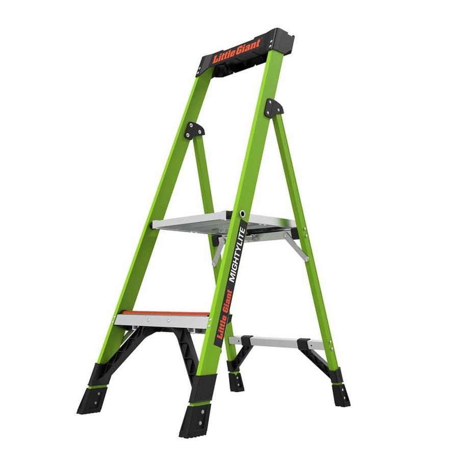 Shop Little Giant Ladders 4 Ft Fiberglass Type 1a 300