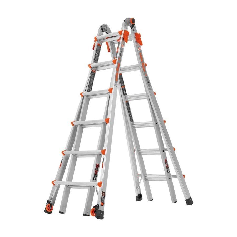 Shop Little Giant Ladders Velocity Aluminum 26 Ft Reach