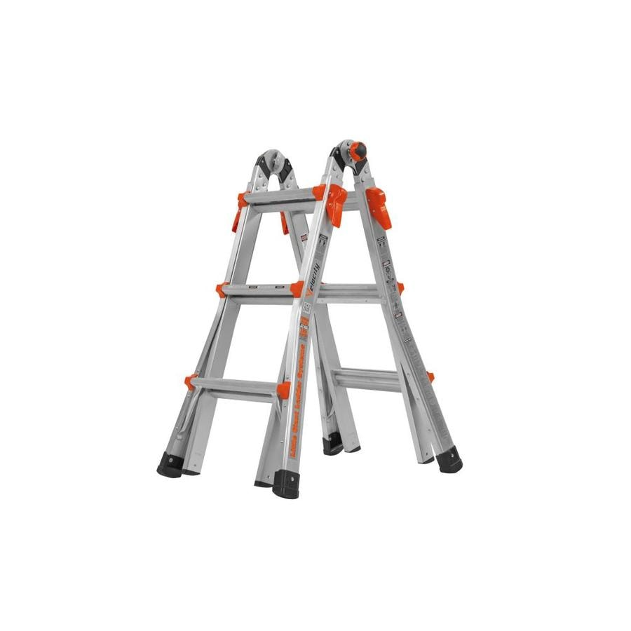 Little Giant Ladders Velocity Aluminum 13 Ft Reach Type 1a