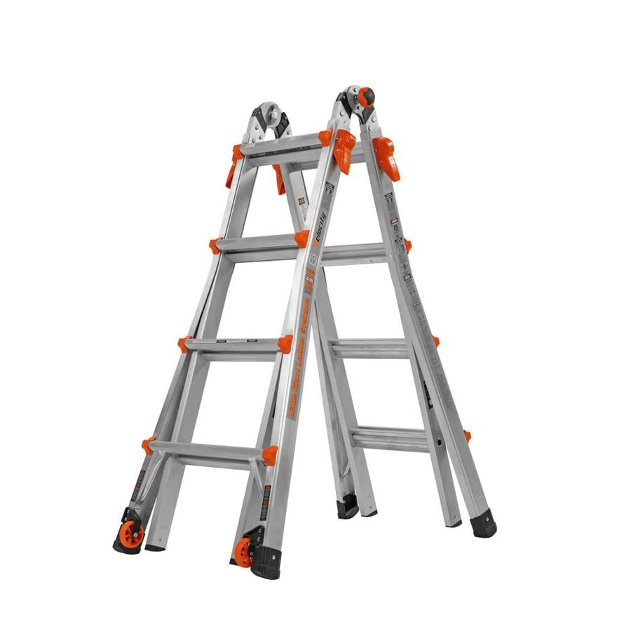 Shop Little Giant Ladders 17 Ft Aluminum 300 Lb