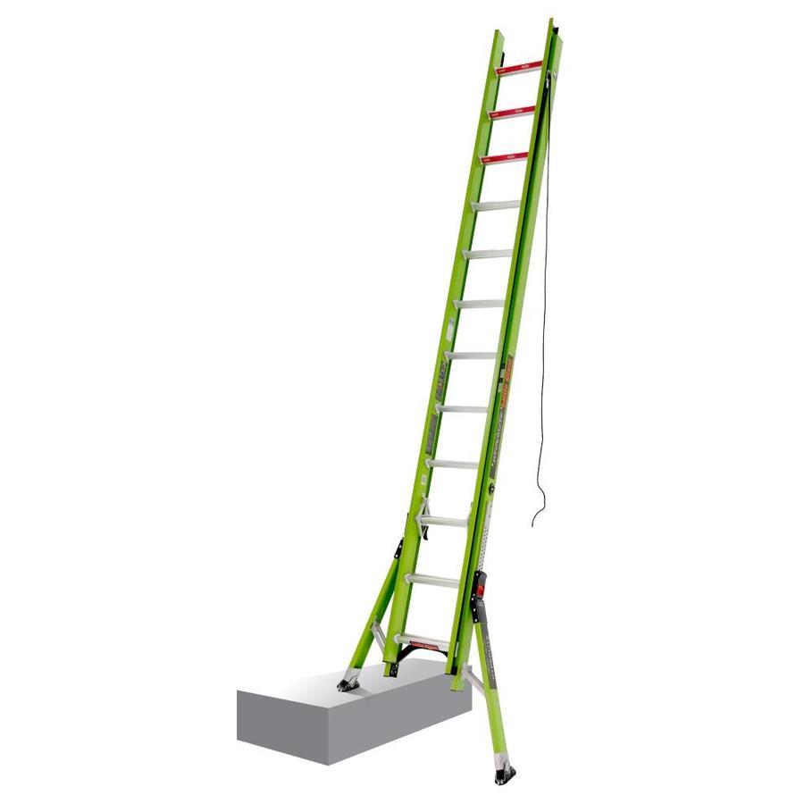 Shop Little Giant Ladders Hyperlite Sumostance Fiberglass