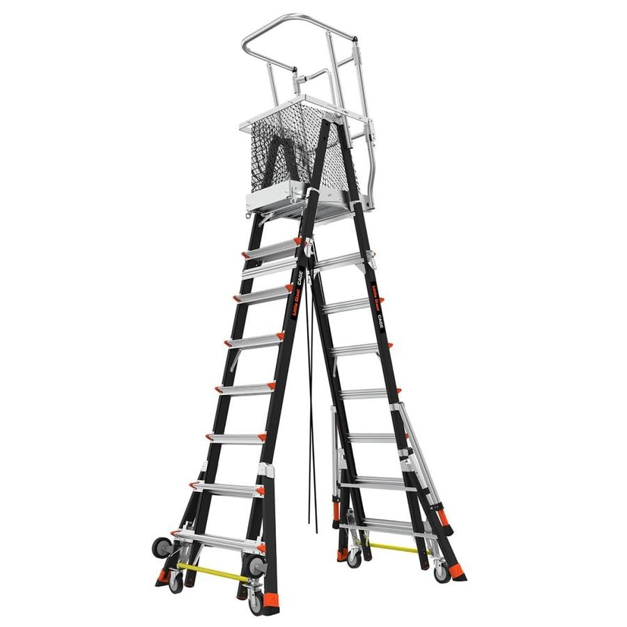 Shop Little Giant Ladders 14 Ft Fiberglass Type 1aa 375