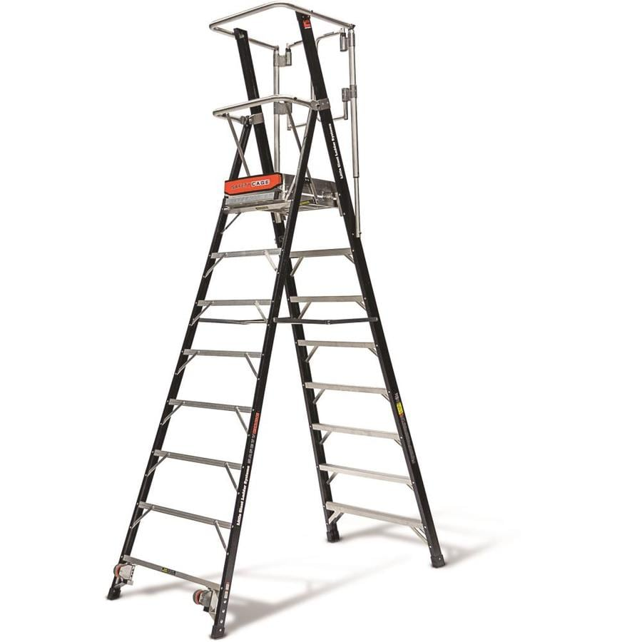 Shop Little Giant Ladders 7 6 Ft Fiberglass Type 1aa 375