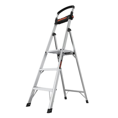 Platform Ladder Step Ladders At Lowes Com