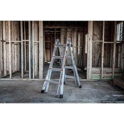 Little Giant Leveler 18-ft Reach Type 1A 300 lbs. Capacity Ladder