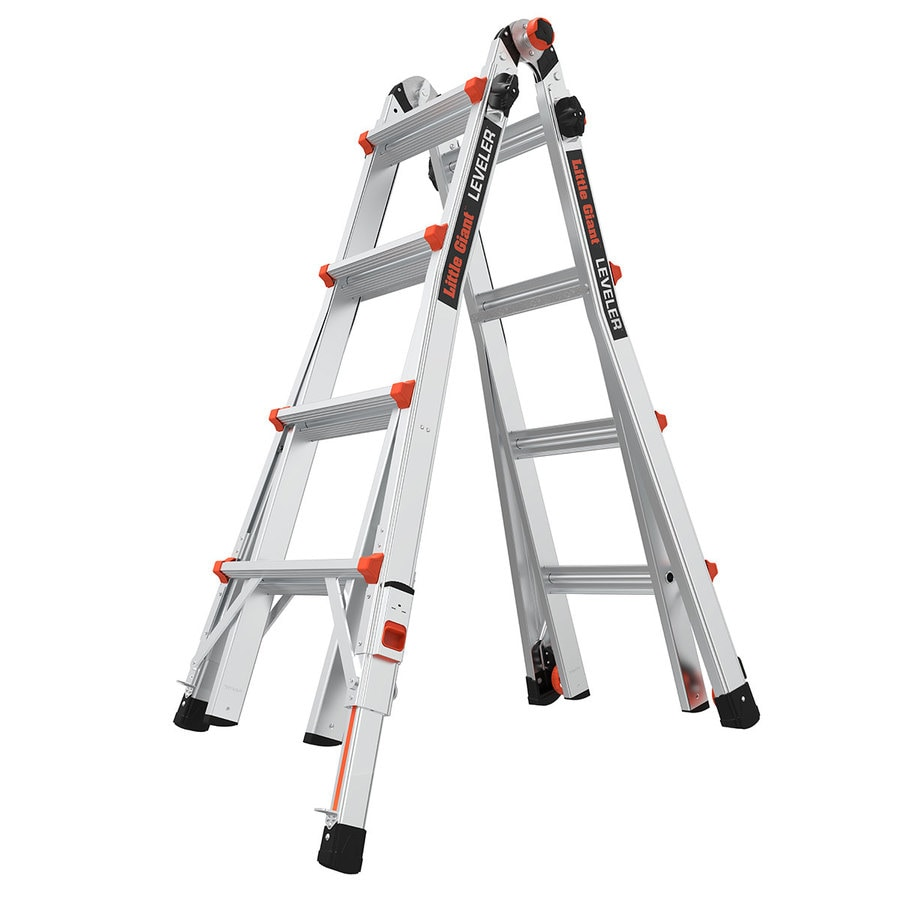 Shop Little Giant Ladders Leveler Aluminum 18 Ft Reach