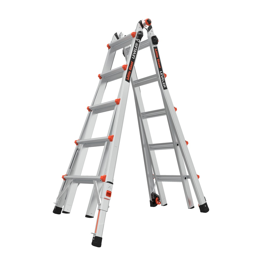 Little Giant Ladders Leveler Aluminum 22-ft Reach Type 1A