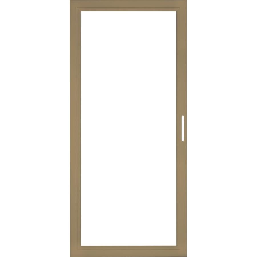 Pella Select Aluminum 36-in x 81-in Putty Storm Door Frame