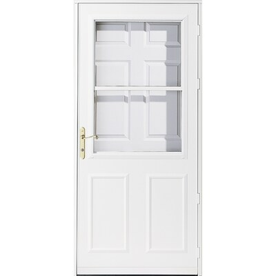 Lowes Exterior Doors With Storm Door : We design our storm doors and screen doors to make your life easier, with styles, options and features to fit your needs.