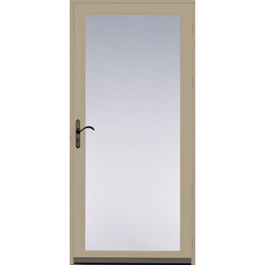 Shop pella ashford tan full view safety aluminum full view glass pella ashford tan full view safety aluminum full view glass and interchangeable screen storm eventelaan Image collections