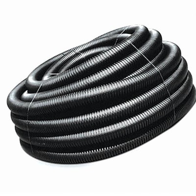 ADS 3-in x 50-ft Corrugated Solid Pipe at Lowes com