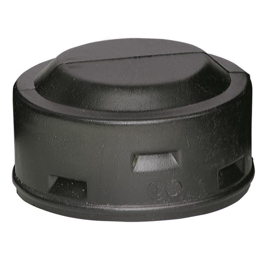 ADS 4-in Dia Corrugated Cap Fitting