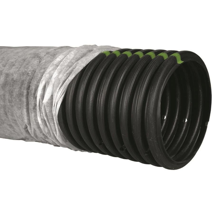 ADS 8-in x 20-ft Corrugated Perforated Pipe
