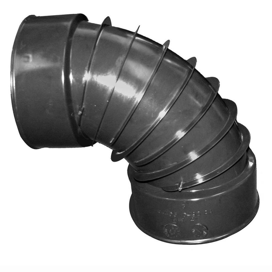 ADS 4-in Dia 90-Degree Corrugated Elbow Fitting