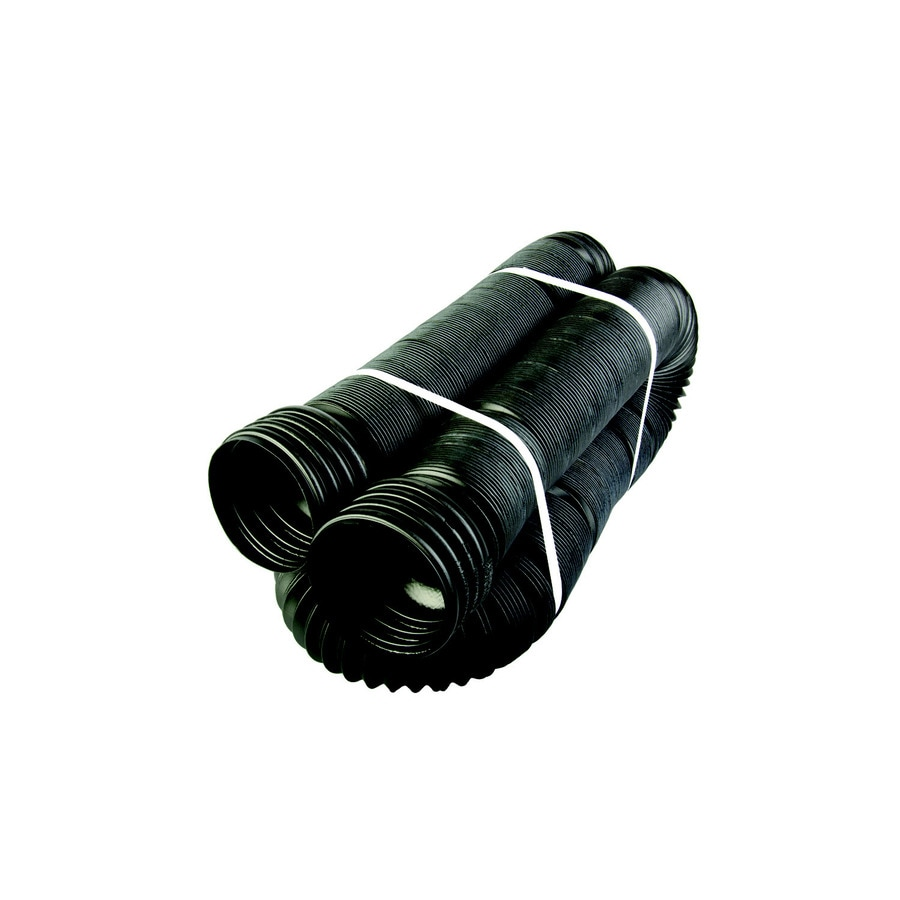 Bend-A-Drain 4-in x 25-ft Expandable Corrugated Flex Pipe