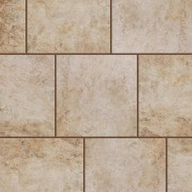 Style Selections Mesa Beige Slip Resistance Floor And Wall Tile Common 12 In