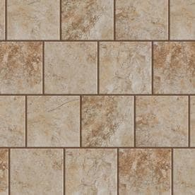 Style Selections Mesa Beige 6-in x 6-in Porcelain Floor and Wall Tile (Common: 6-in x 6-in; Actual: 5.75-in x 5.75-in)