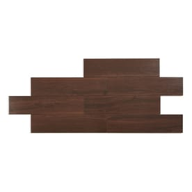 Style Selections Serso Black Walnut 6 In X 24 In Porcelain