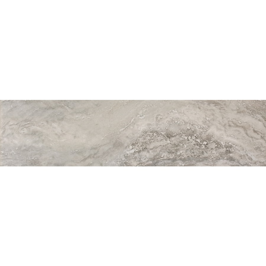 FLOORS 2000 Millenium Grey Porcelain Bullnose Tile (Common: 3-in x 12-in; Actual: 3-in x 12-in)