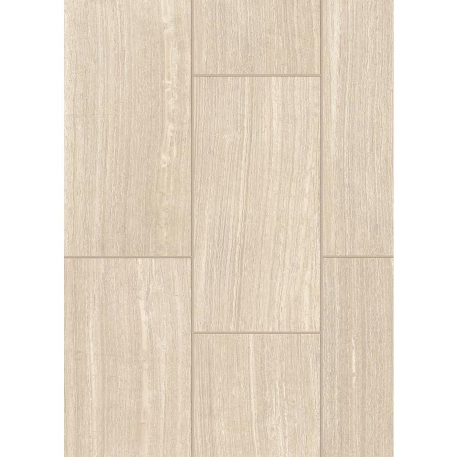 Shop Style Selections Leonia Sand Porcelain Floor and Wall Tile ...