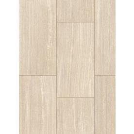 Style Selections Leonia Sand 12-in x 24-in Porcelain Floor and Wall Tile (Common: 12-in x 24-in; Actual: 11.75-in x 23.75-in)