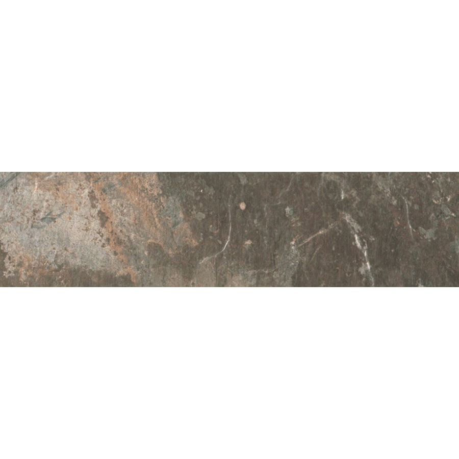 FLOORS 2000 Afrika Cape Town Porcelain Bullnose Tile (Common: 3-in x 12-in; Actual: 3-in x 11.81-in)