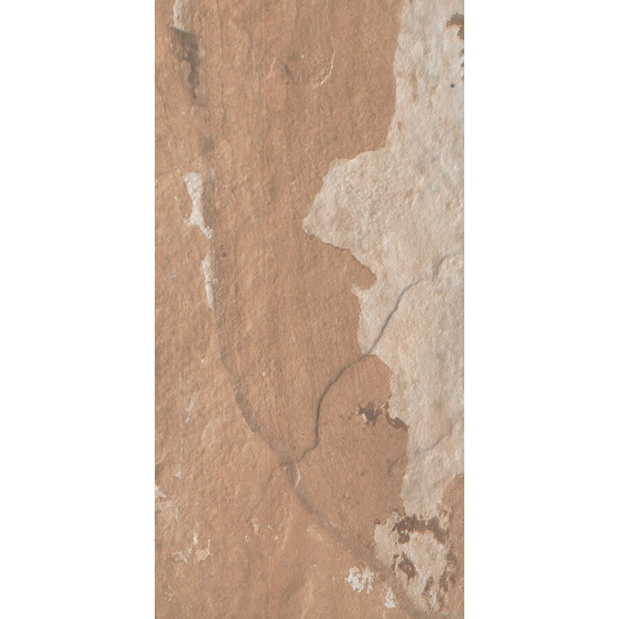 FLOORS 2000 Afrika 6-Pack Dakar Porcelain Floor and Wall Tile (Common: 12-in x 24-in; Actual: 11.92-in x 23.95-in)