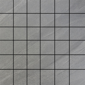 Floors 2000 Galaxy Grigio Porcelain Uniform Squares Mosaic Floor And Wall Tile Common 12