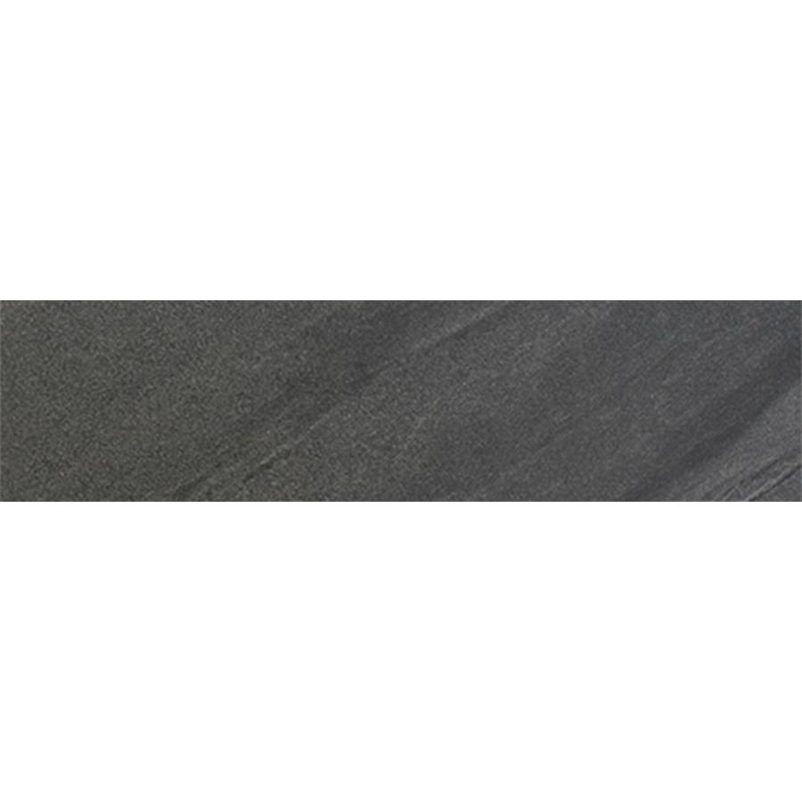 FLOORS 2000 Galaxy Nero Porcelain Bullnose Tile (Common: 3-in x 12-in; Actual: 3-in x 11.92-in)