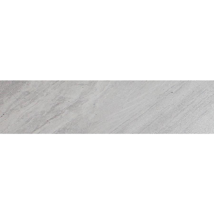 FLOORS 2000 Galaxy Silver Porcelain Bullnose Tile (Common: 3-in x 12-in; Actual: 3-in x 11.92-in)