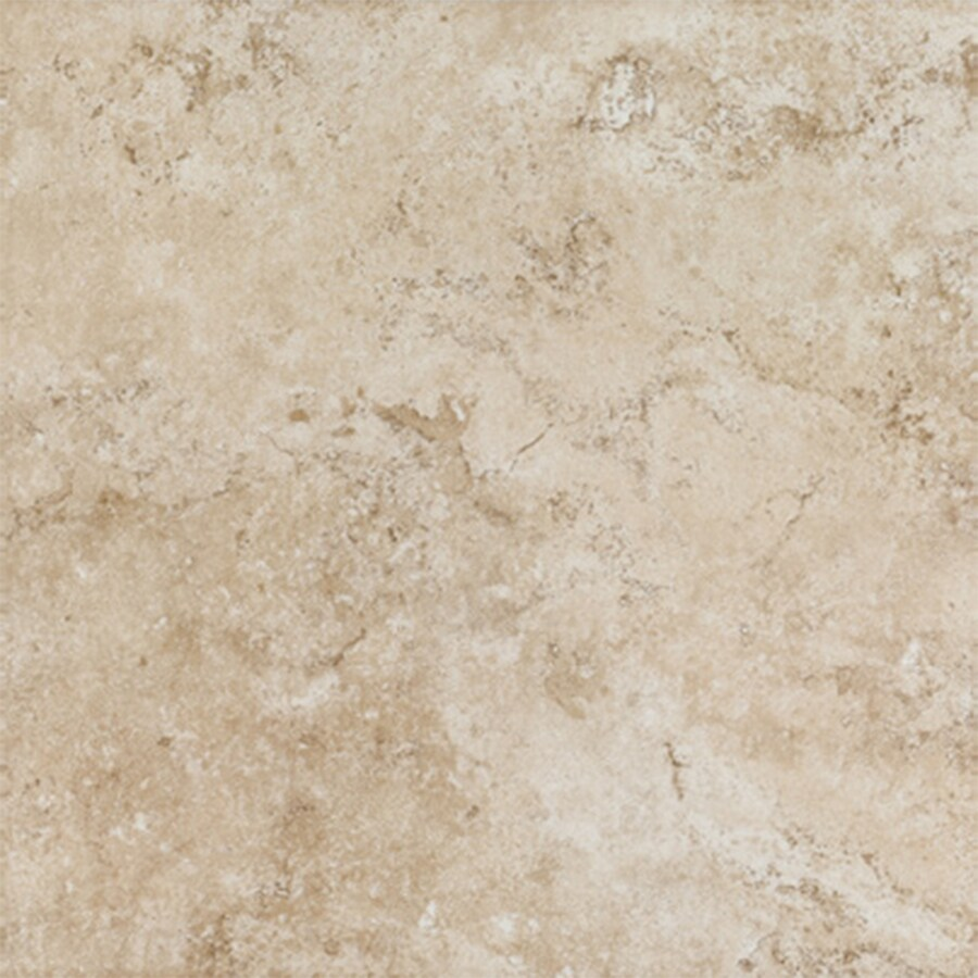 FLOORS 2000 Tiburstone 13-Pack Beige Porcelain Floor and Wall Tile (Common: 12-in x 12-in; Actual: 11.92-in x 11.92-in)