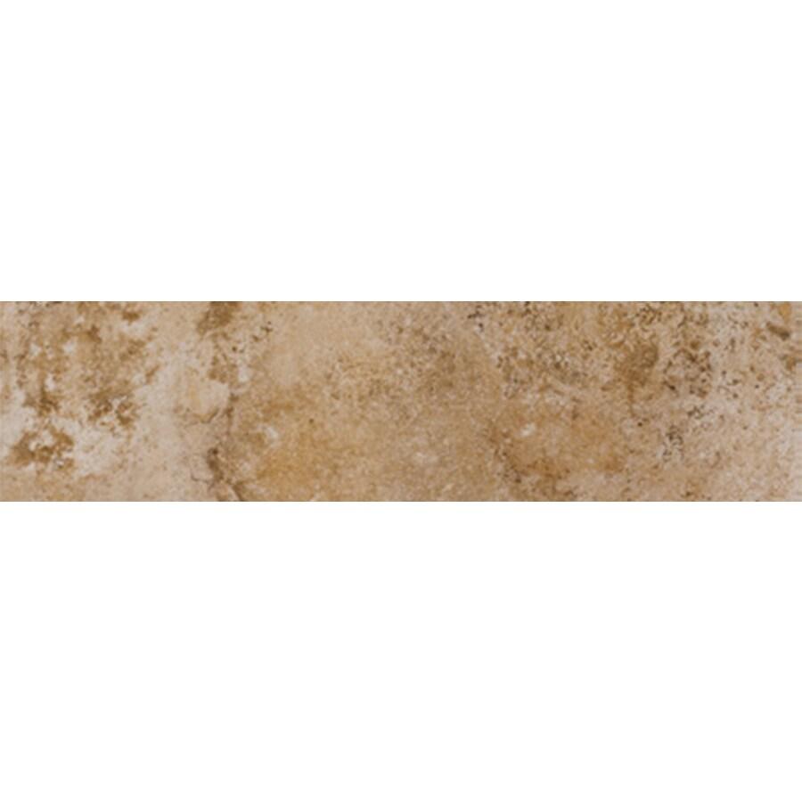 FLOORS 2000 Tiburstone Blend Porcelain Bullnose Tile (Common: 3-in x 12-in; Actual: 3-in x 11.92-in)