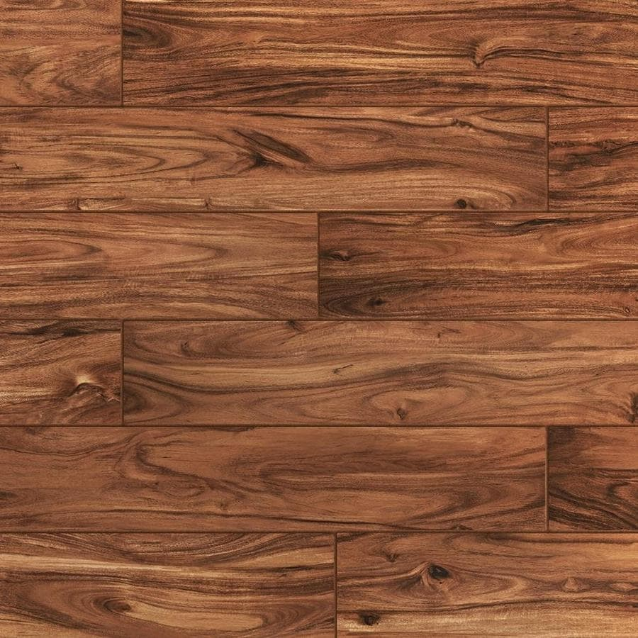 Shop wood look tile at lowes style selections acacia natural wood look porcelain floor and wall tile common 6 dailygadgetfo Images