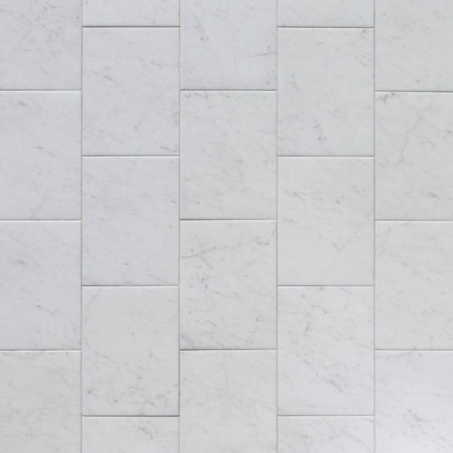 Style Selections Futuro White Porcelain Floor and Wall Tile (Common: 9-in x 12-in; Actual: 8.75-in x 11.75-in)