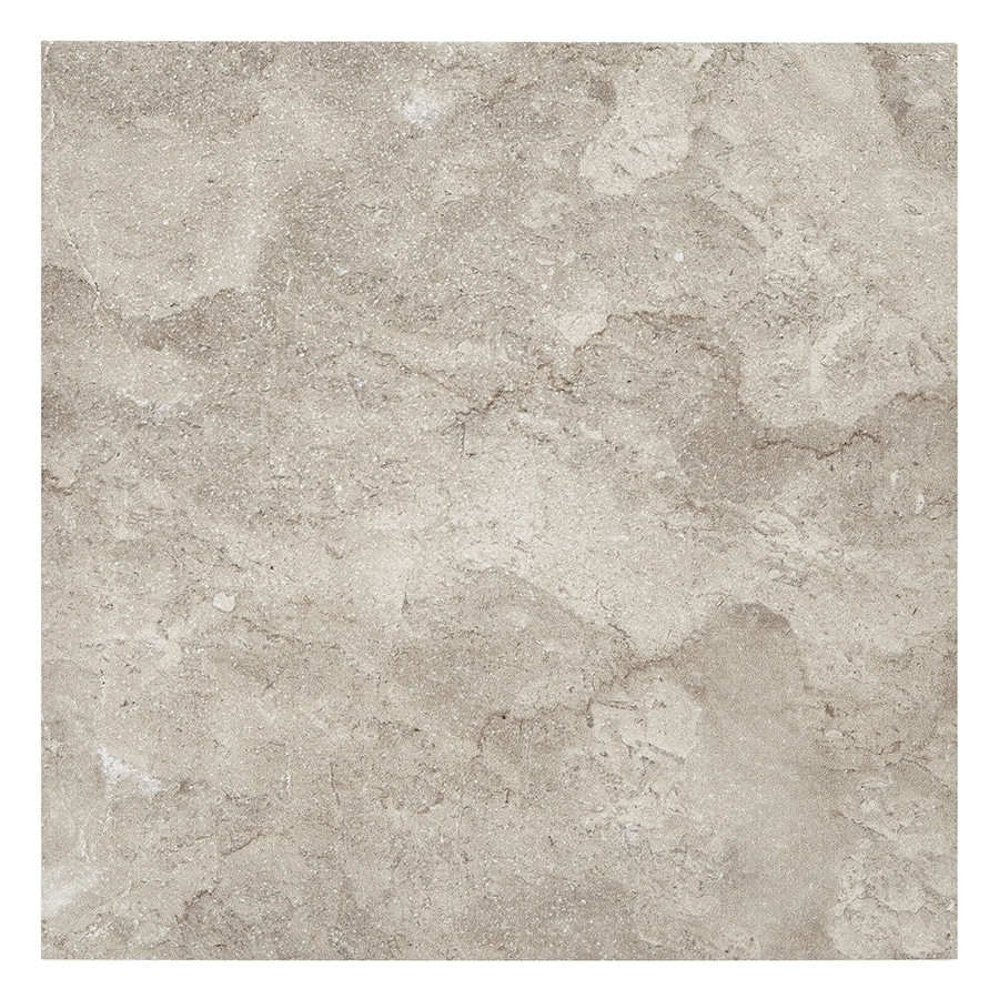 Style Selections Bagnoli Noce Porcelain Floor and Wall Tile (Common: 12-in x 12-in; Actual: 11.75-in x 11.75-in)