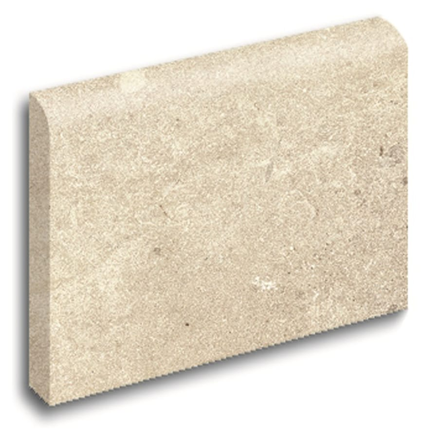 Style Selections Logical Honey Porcelain Bullnose Tile (Common: 3-in x 12-in; Actual: 2.75-in x 11.75-in)