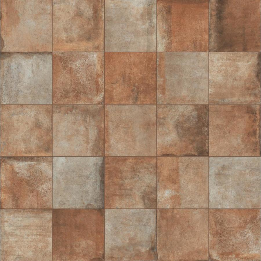 Shop Style Selections Sarno Sunset Porcelain Floor and Wall Tile ...