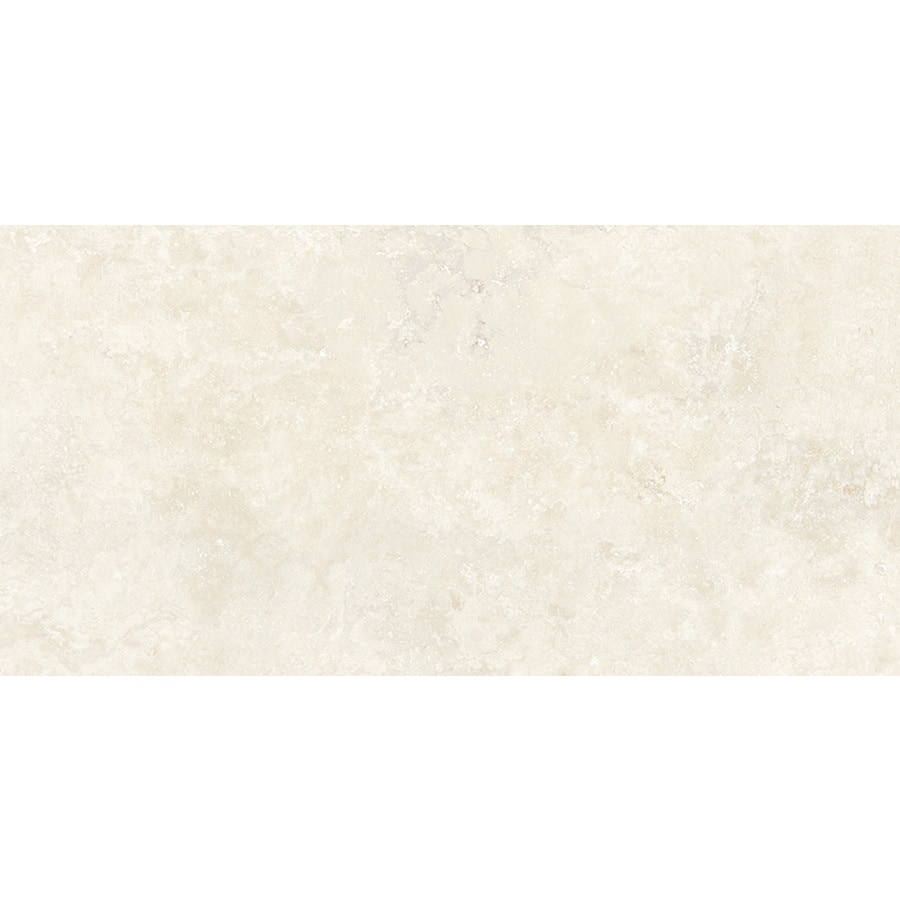 Style Selections Beltade Marfil Cream Porcelain Floor Tile (Common: 12-in x 24-in; Actual: 11.75-in x 23.75-in)