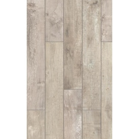Style Selections Sequoia Ballpark 6 In X 36 In Porcelain