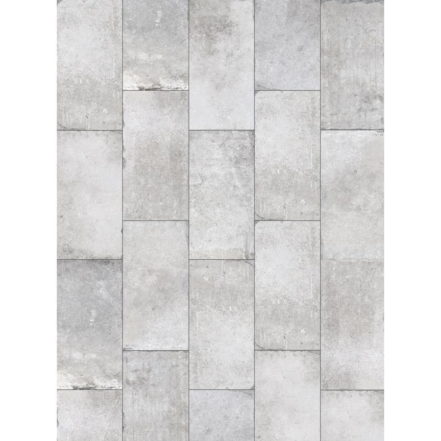 Shop Style Selections Chatham Grey Porcelain Floor And