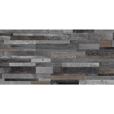 Style Selections Eastport Charcoal 8 In