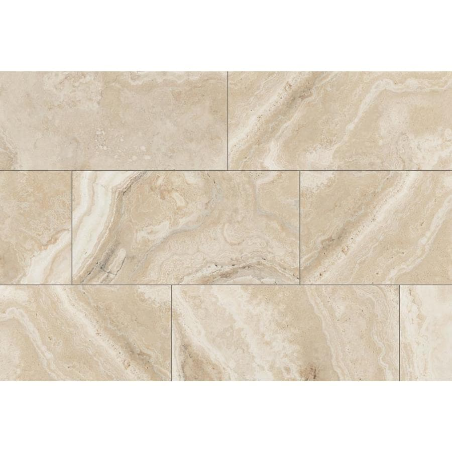 Shop Style Selections Rapolano Beige Slip Resistance Floor And Wall