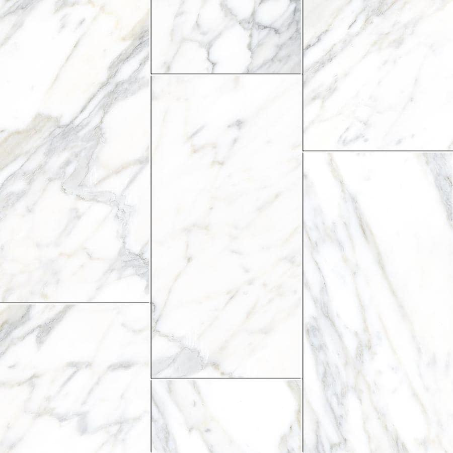 True Porcelain Co Arabeo White Floor And Wall Tile Common 12