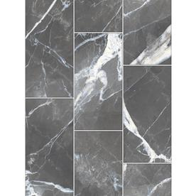 Calacatta Black Polished Porcelain Floor And Wall Tile Common 12